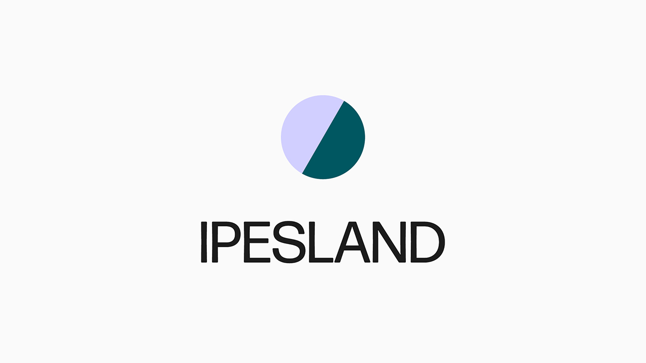 Studio Fire Work, projet Ipesland, logotype