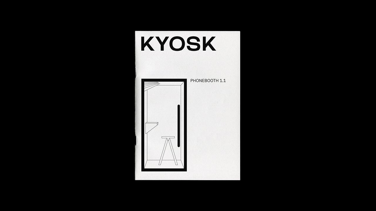 Studio Fire Work, projet Kyosk, catalogue produit